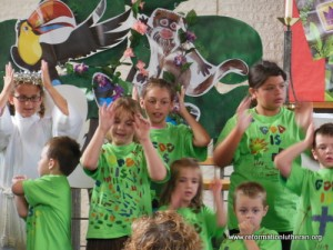 Reformation Lutheran Church Vacation Bible School VBS Student Performance