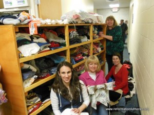 Reformation Lutheran Church clothing bank
