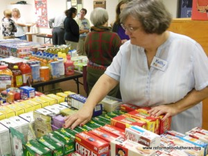 Reformation Lutheran Church food pantry Exeter Area