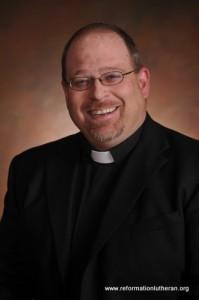 Pastor Steven Claycomb Reformation Lutheran Church Gettysburg
