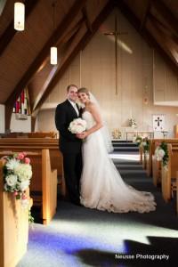 Reformation Lutheran Church wedding marriage ceremony