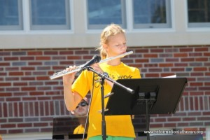 Reformation Lutheran Church flute God's Work Our Hands music