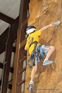 reformation lutheran church rock climbing youth fun ozzy's event active