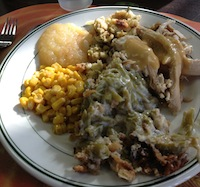 Reformation Lutheran Church Thanksgiving Dinner food