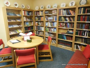 Reformation Lutheran Church Wegman Memorial Library